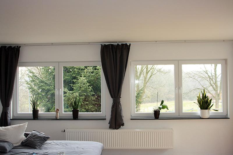 Wohnzimmer Entkernung Neue Fenster Decke Abgehangen Innendekorputz Spachtelarbeiten Nderung Der Fensterbrstungen